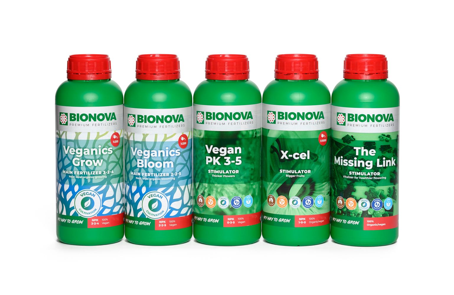Bionova Veganics Exploration Pack